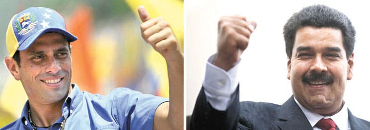Caliente fin de campaña en Venezuela
