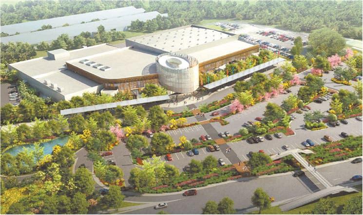 Listo diseño para Centro de Convenciones