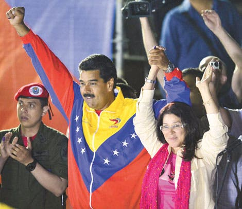 Maduro gobernará una Venezuela dividida