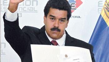 Proclamación de Maduro vulnera paz venezolana