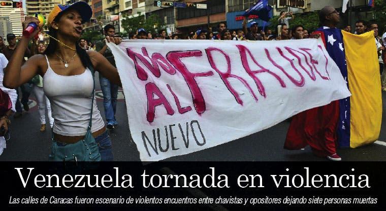 Maduro y Capriles se acusan por muertes