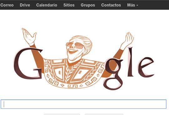 Google rinde homenaje a Chavela Vargas