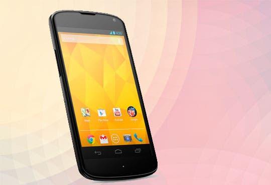 El Nexus 4 a la venta hoy