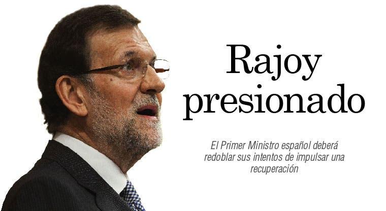 Rajoy presionado busca recuperación