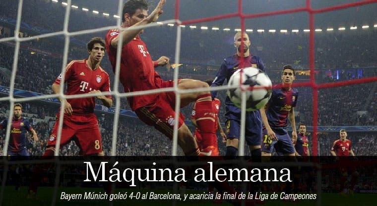 Bayern demolió al Barça