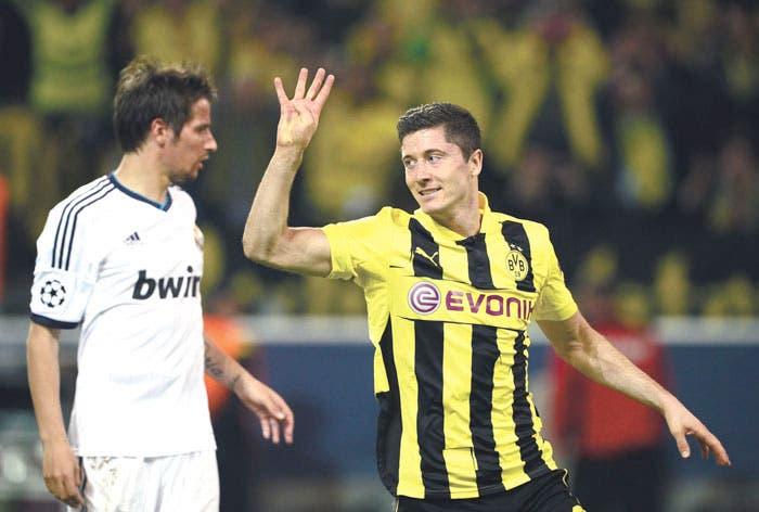Dortmund humilla al Madrid