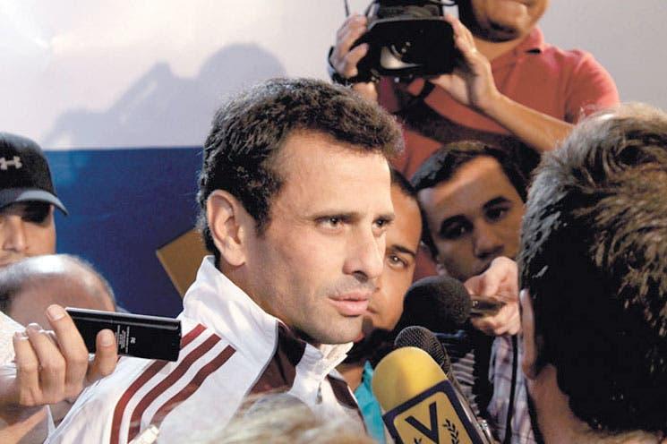 Asamblea investigará a Capriles