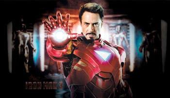 """""""Iron Man 3"""", el superhéroe más torpe del cine"""