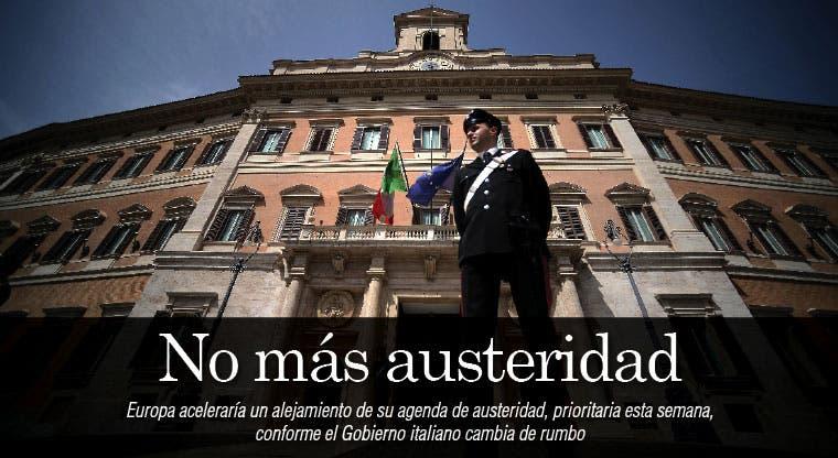 Europa se aleja del plan de austeridad