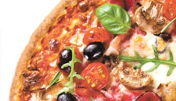 Pizza londinense: la mejor comida
