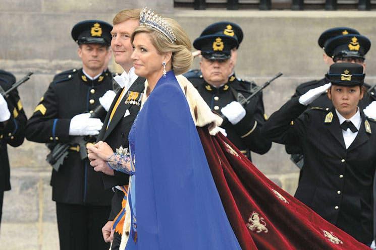 Guillermo-Alejandro y Máxima: reyes de Holanda