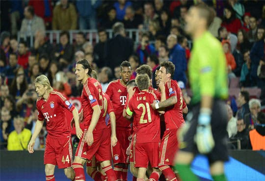 Un fabuloso Bayern desnuda al Barça