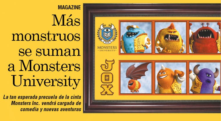 Más monstruos se suman a Monsters University