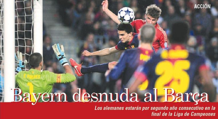 Bayern desnuda al Barça
