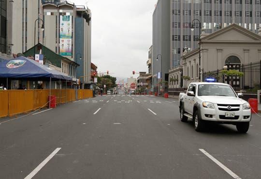 Paseo Colón y Avenida Segunda cerradas