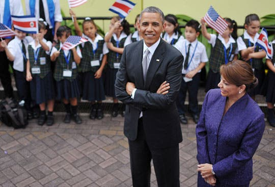 Obama se reunió con voluntarios del Cuerpo de Paz