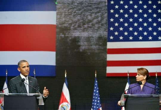 Obama afirma que Costa Rica es un gran socio