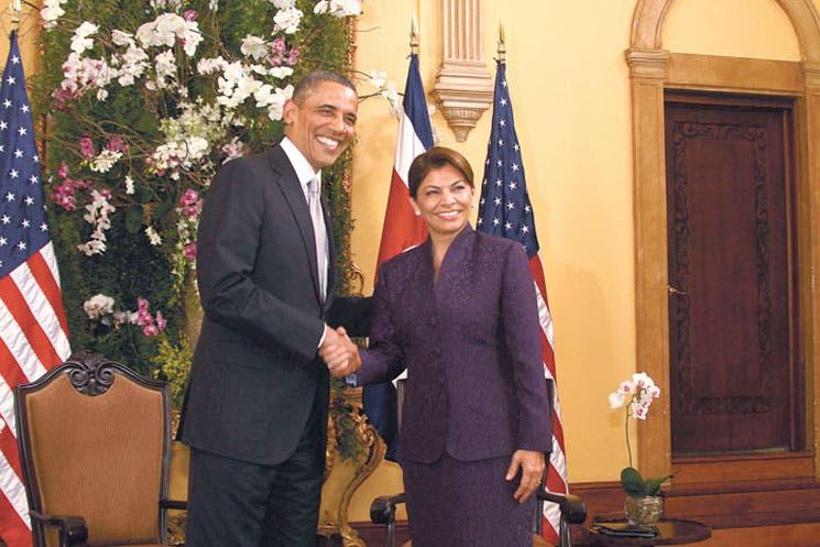 Obama pide igualdad, Chinchilla no tiene prisa