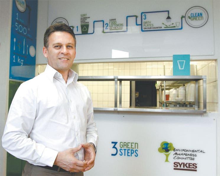 Acción verde premia a Sykes