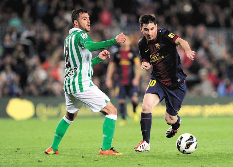 Messi mitiga la depresión