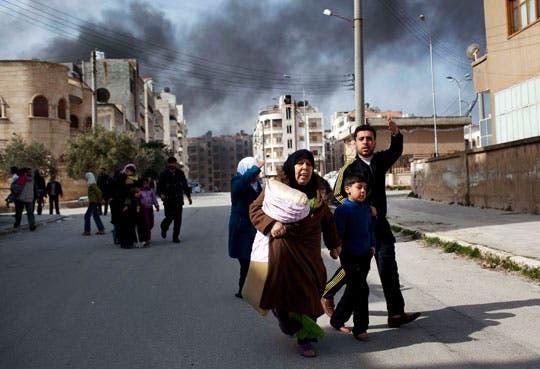 Desplazados internos en Siria son 4,25 millones
