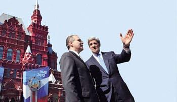 Siria concentró cita de Kerry con Putin