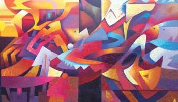 Arte de colores y sentimientos