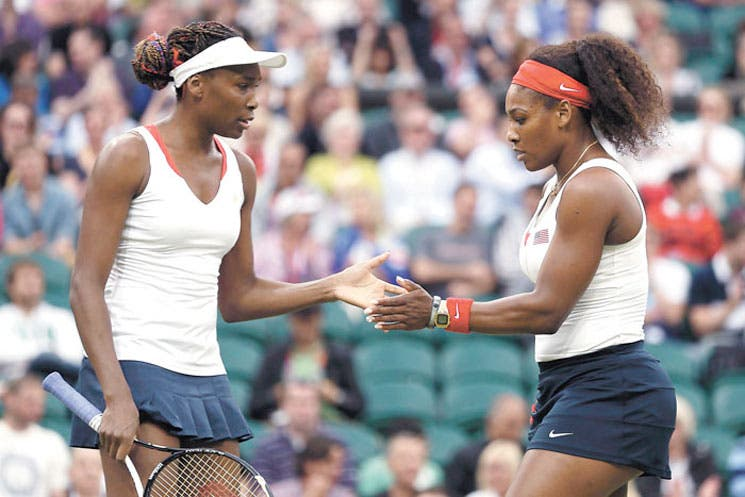 Intimidad de hermanas Williams al descubierto