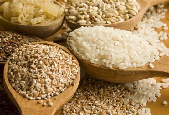Elevada producción de cereales
