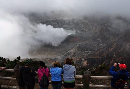 Parque Volcán Poás trabaja normalmente