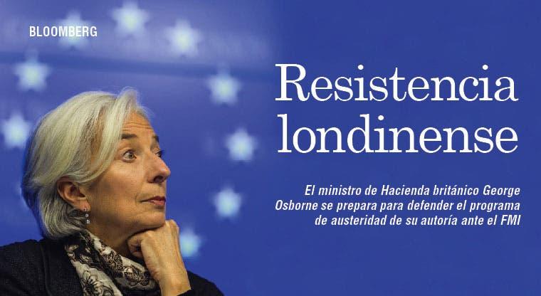 Reino Unido pone resistencia a FMI
