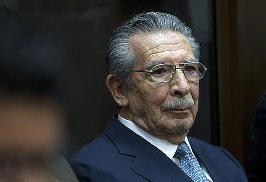 Ríos Montt condenado a 50 años