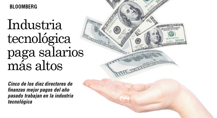 Industria tecnológica paga salarios más altos