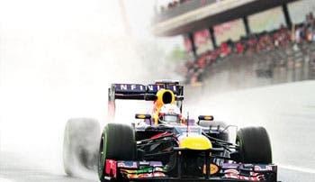 Vettel, el más rápido