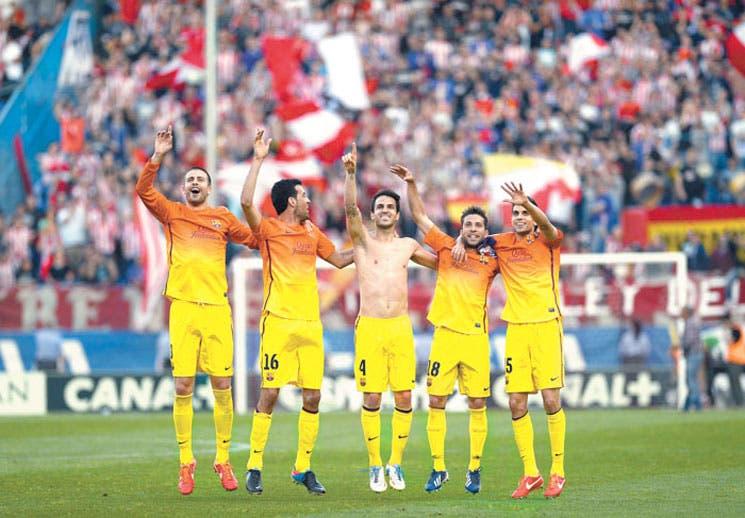 Barça gritó el alirón
