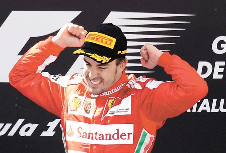 ¡Extraordinario Alonso!