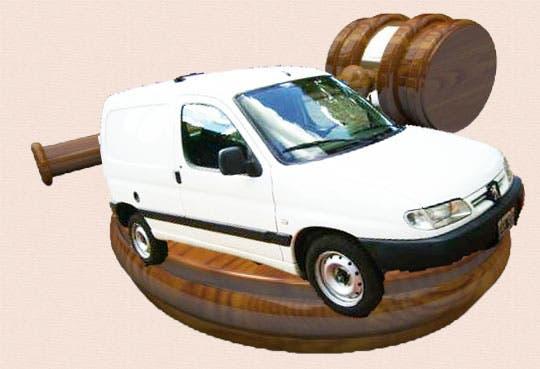 INS rematará vehículos