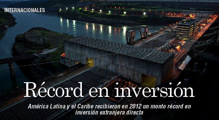 Latinoamérica marca récord de inversiones