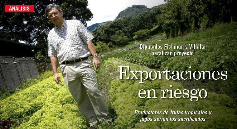 Exportaciones en riesgo