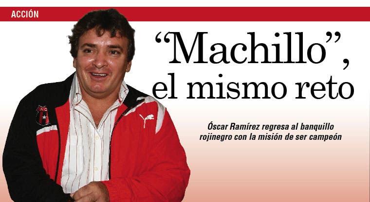 Ramírez: Y volver, volver, volver...