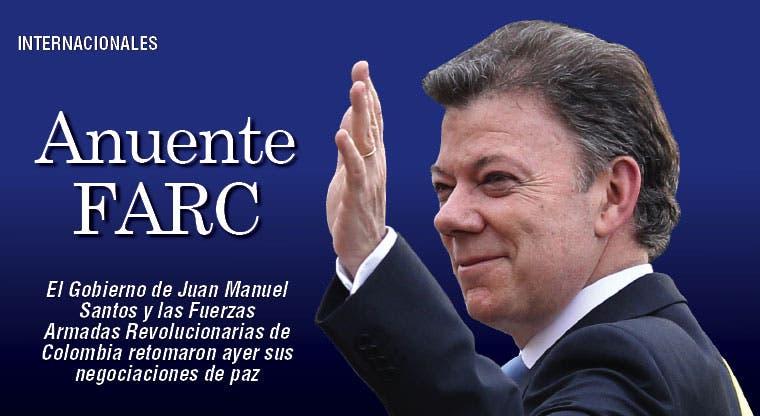 FARC dispuesta a acelerar diálogo de paz