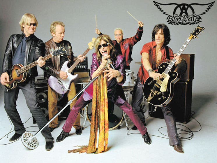 Aerosmith regresa a la escena tica