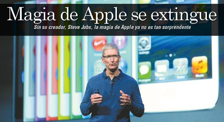 Apple pierde su magia