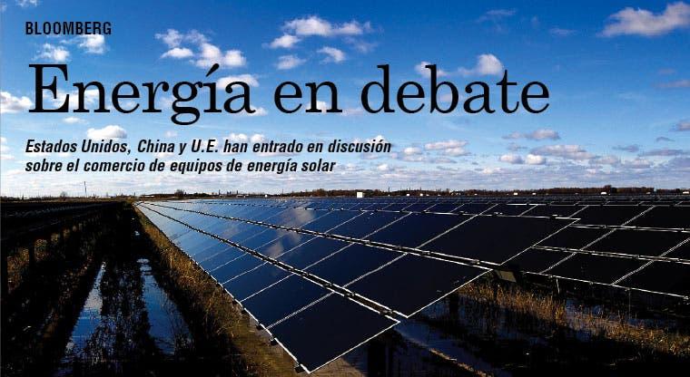 Energía solar tema de discusión entre grandes