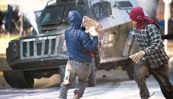 Chile tomada por revueltas callejeras