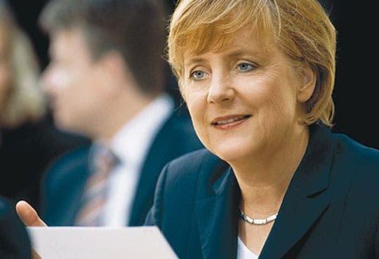 Merkel, la mujer más poderosa por tercera vez
