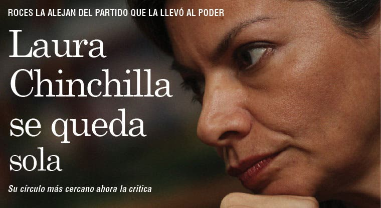 Chinchilla se queda sola