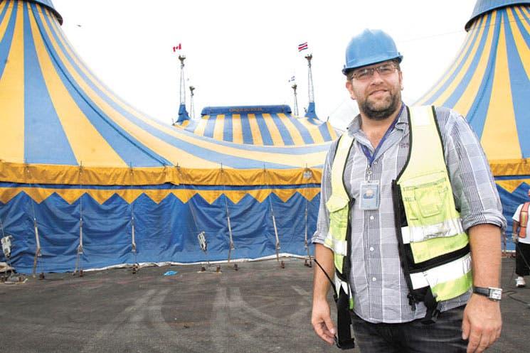 Circo del Sol ya brilla en el país