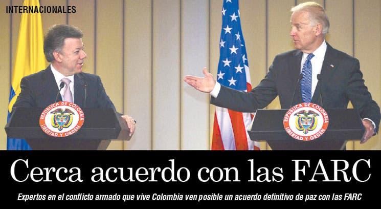Colombia a las puertas de acuerdo con FARC