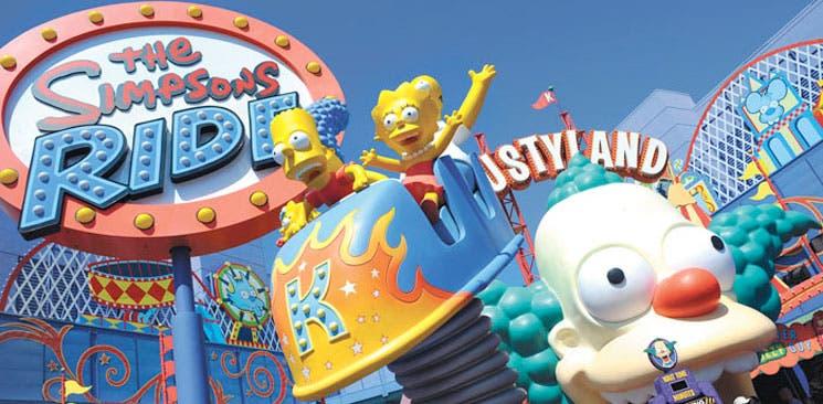 Ciudad de los Simpsons será replicada en parque temático